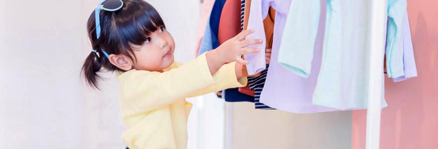 vêtements de votre enfant